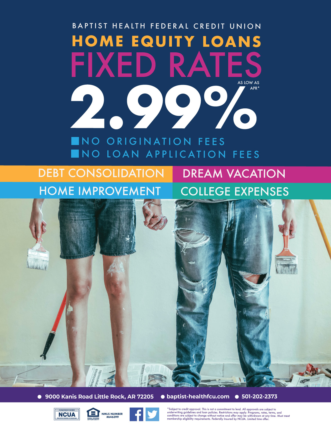 Fixed Rate Home Equity Loans as low as 2.99% APR