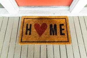 Home Front Door Mat